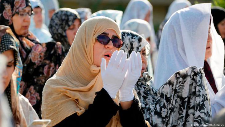 نساء إيرانيات يحتفلت بعيد الفطر في 26.6.2017
