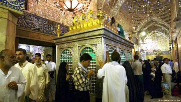 مرقد الإمام الحسين في كربلاء. dpa ©