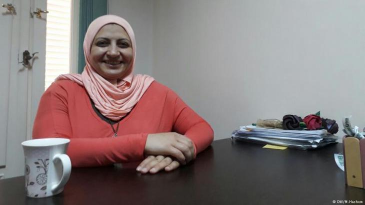 هبة راشد مؤسِّسة جمعية مرسال الخيرية في مصر