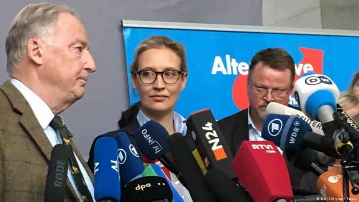 """حزب البديل من أجل ألمانيا صرح بأن """"الإسلام أكبر تحد للسلم الداخلي في ألمانيا""""."""