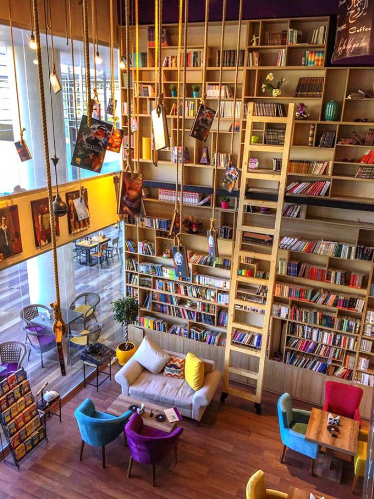 في أربيل...مرحباُ بكم في  أول مقهى للكتب في كردستان العراق
