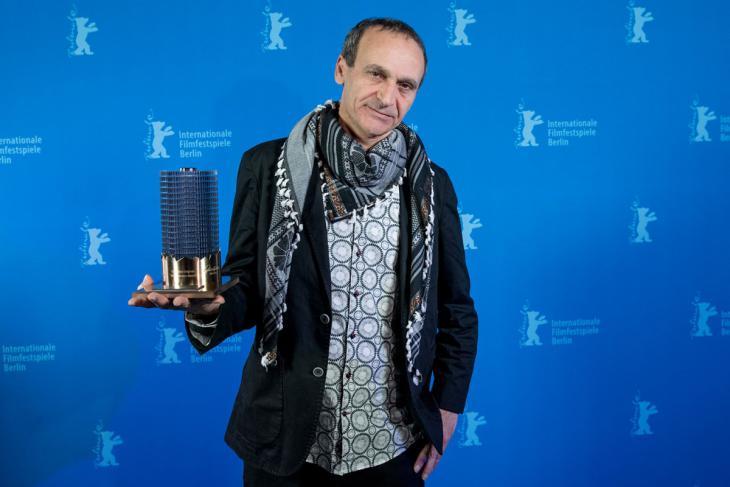 """المخرج الفلسطيني رائد أنضوني. الصورة: مهرجان """"أوروبا-الشرق للفيلم الوثائقي"""" في المغرب"""