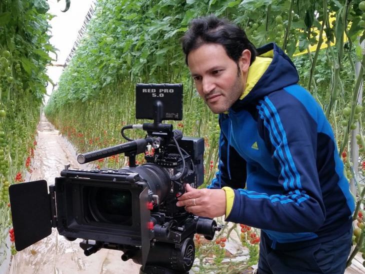 المخرج المغربي رشيد قاسمي RACHID KASMI.الصورة: الجمعية المغربية للدراسات الإعلامية والأفلام الوثائقية.
