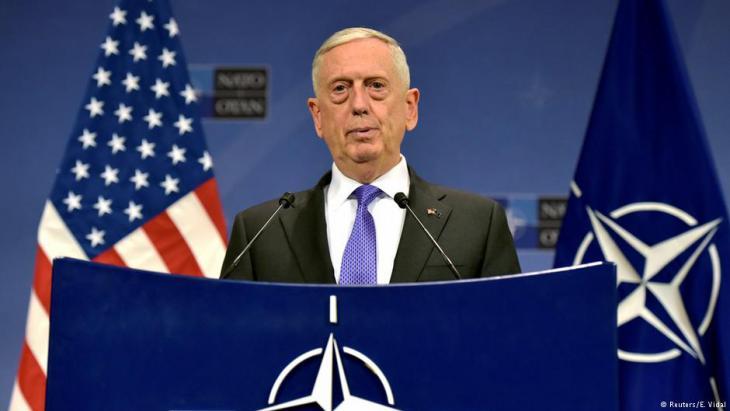 وزير الدفاع الأمريكي ماتيس
