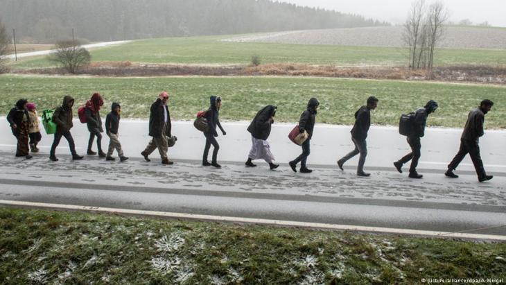 لاجئون في الطريق إلى أوروبا