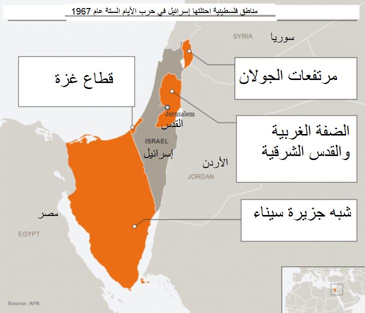 الاحتلال الإسرائيلي للمناطق الفلسطينية منذ يونيو/ حزيران 1967 غيَّر حياة ملايين الفلسطينيين