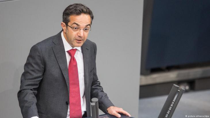 المثقف الألماني المسلم من أصول إيرانية نافيد كرماني. Foto: Picture alliance/ dpa
