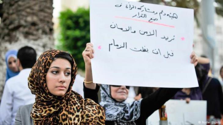 هاجر الشريف سيدة من ليبيا تكافخ من أجل حقوق الإنسان وتغيير عقلية الرجل والمرأة بعد الثورة الليبية