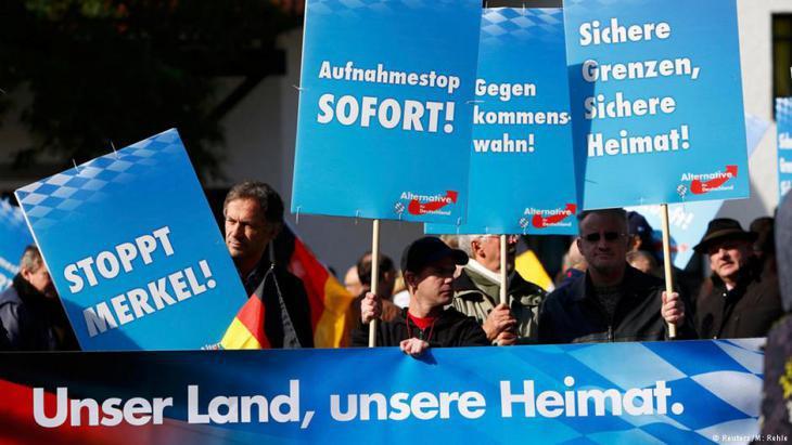 حزب البديل من اجل ألمانيا العداء للسامية : بضاعة غربية للتصدير