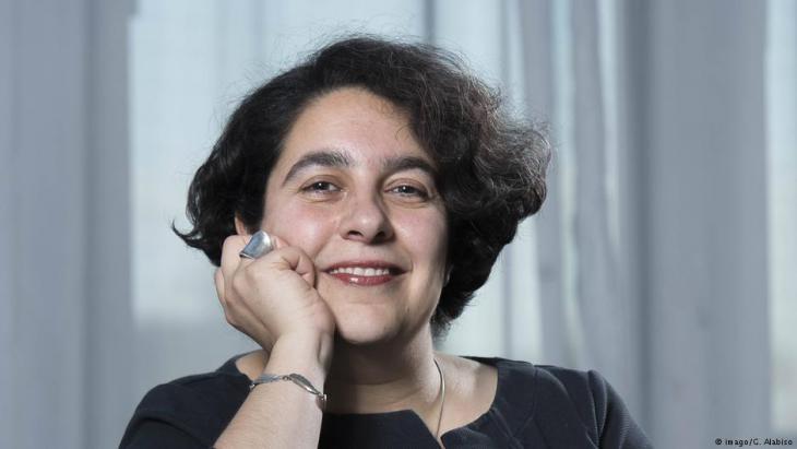 الكاتبة الإيرانية مهرنوش زائري-أصفهاني. Foto: imago