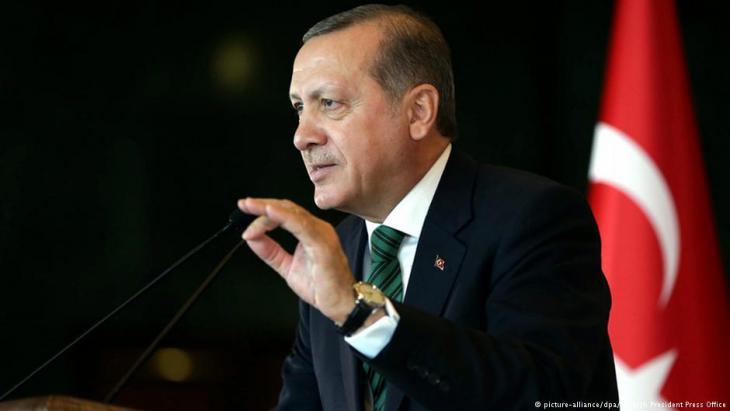 الرئيس التركي رجب طيب إردوغان.