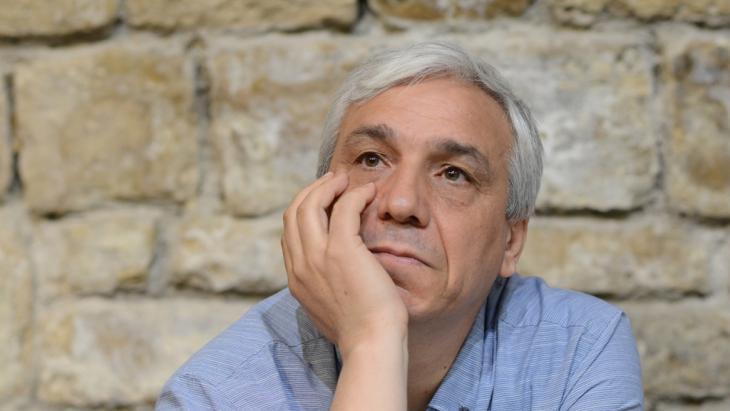 Der syrische Disident Yassin al-Haj Saleh; Foto: AP
