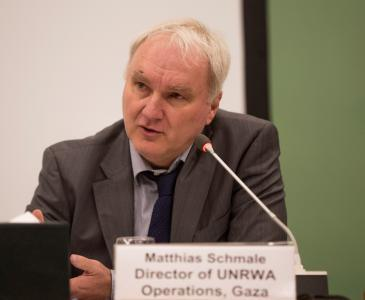 ماتياس شماله، مدير وكالة الأمم المتحدة لغوث وتشغيل اللاجئين الفلسطينيين في غزة. Foto: UNRWA