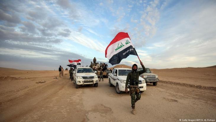 مقاتلون عراقيون