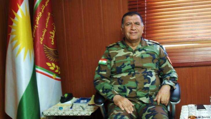 اللواء العراقي الكردي عزيز ويسي. Foto: DW