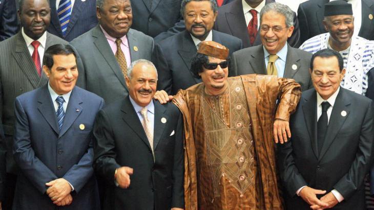 الاستبداد في العالم الإسلامي - بعث القبيلة في الدولة: ..زعماء عرب قبل الربيع العربي