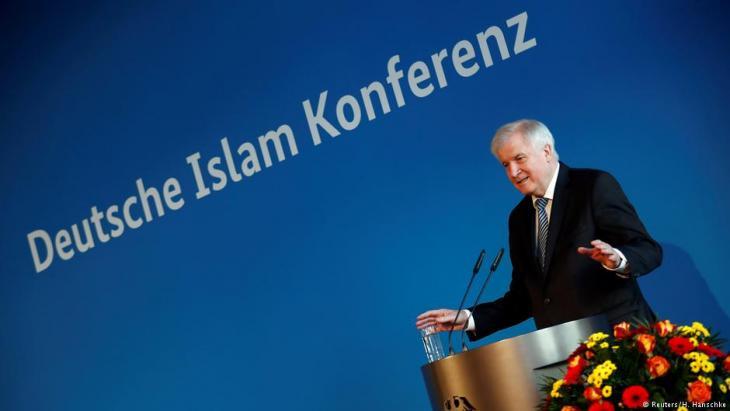 وزير الداخلية الألماني هورست زيهوفر (وهو من الحزب المسيحي الاجتماعي CSU).  Foto: Reuters