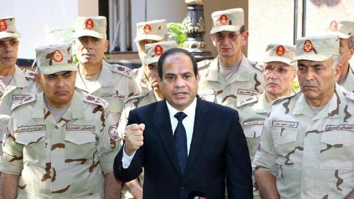رئيس مصر عبد الفتاح السيسي.
