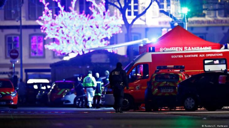 Attentat in Straßburg مهاجم سوق الميلاد في ستراسبورغ شرقي فرنسا قتل ثلاثة أشخاص وله سجل جنائي طويل وجرائم سطو