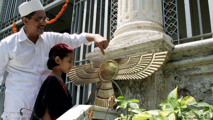 الصورة من الهند - تعاليم زرادشت انتشرت بدءا من نهاية الألفية الثانية في إيران. Foto: AM PANTHAKY/AFP/Getty Images