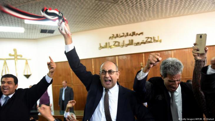 المعارضة المحامي والناشط الحقوقي خالد علي