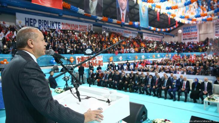 Der türkische Präsident Recep Tayyip Erdogan; Foto: picture-alliance/abaca