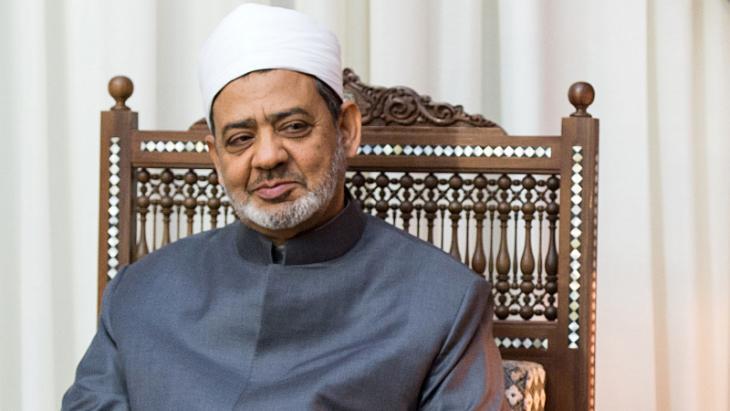 أحمد الطيب شيخ الأزهر. Foto: dpa