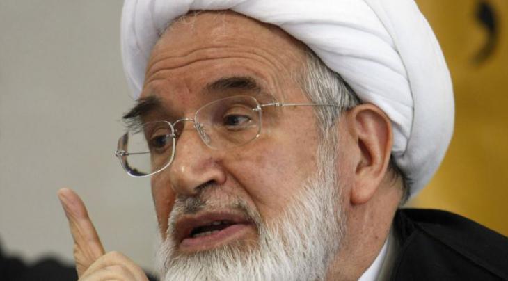 رئيس البرلمان الإيراني السابق، مهدي كروبي. Foto: AFP