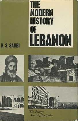 """الغلاف الإنكليزي لكتاب """"تاريخ لبنان الحديث"""" - تأليف كمال الصليبي. Verlag Weidenfeld & Nicolson"""