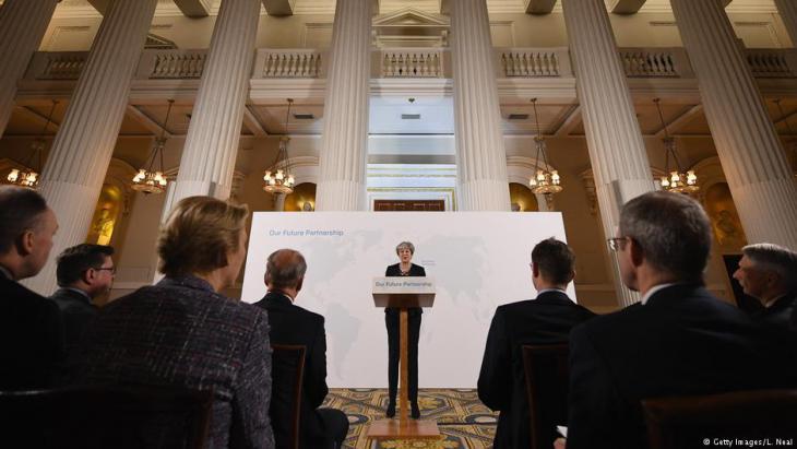 تيريزا ماي رئيسة الوزراء البريطانية. (photo: Getty Images/L. Neal)