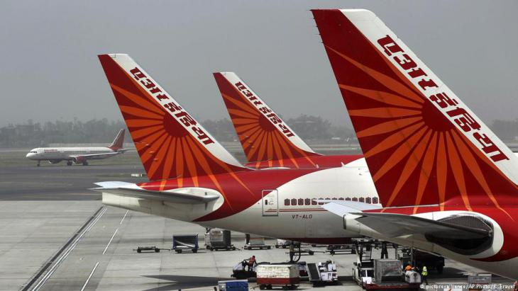"Indische Fluggesellschaft ""Air India""; Foto: picture-alliance/AP"