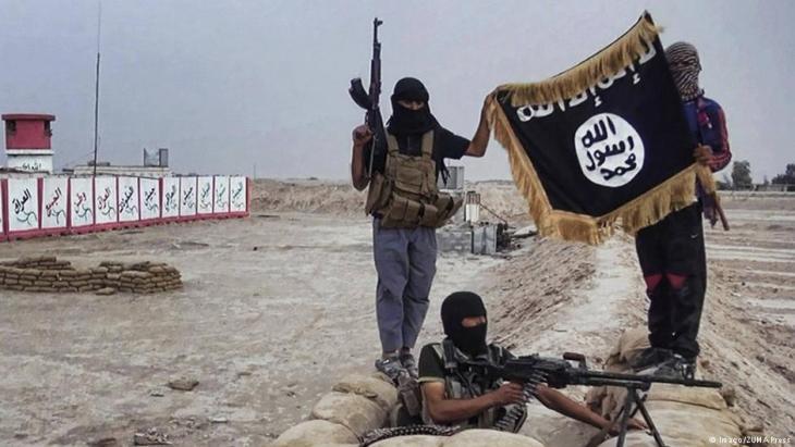 مقاتلون تابعون لداعش في سوريا. Foto: Imago/ZUMA Press