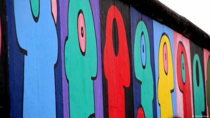 رمز لجدار برلين - ألمانيا.