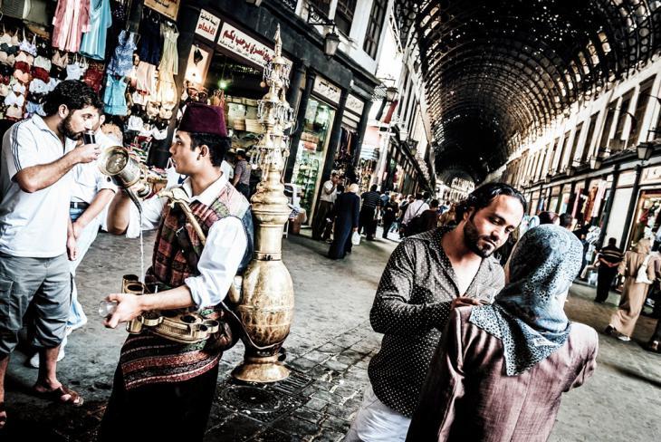 سوق الحميدية في دمشق - سوريا. Foto: Lutz Jäkel