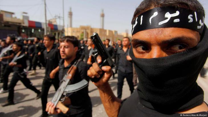 مسلحون عراقيون في العراق بتاريخ 21 / 06 / 2014.