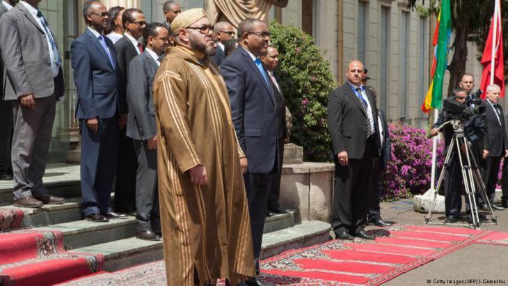 زيارة الملك محمد السادس إلى أديس أبابا في 19 نوفمبر/ تشرين الثاني 2016.