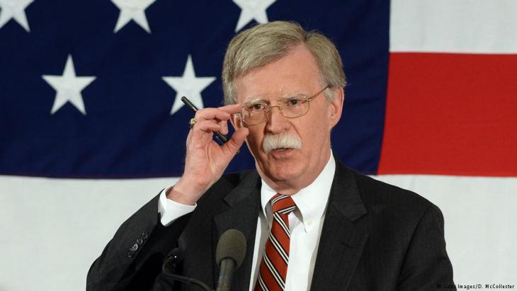 مستشار ترامب للأمن القومي، جون بولتون. Foto: Getty Images
