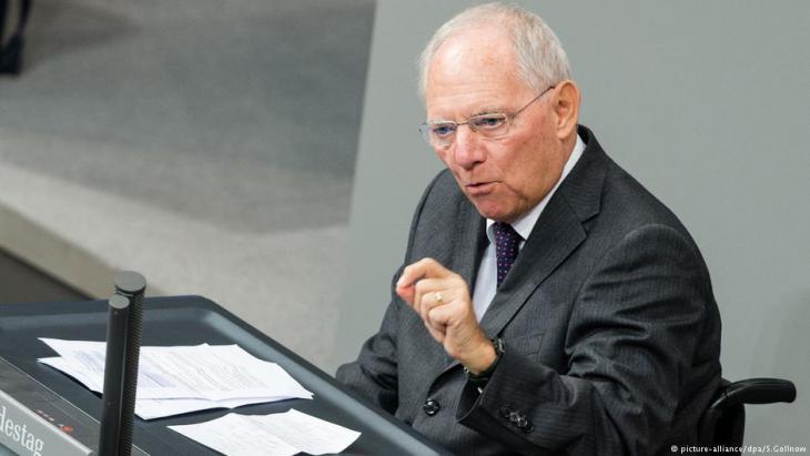 رئيس البرلمان الألماني فولفغانع شويبله