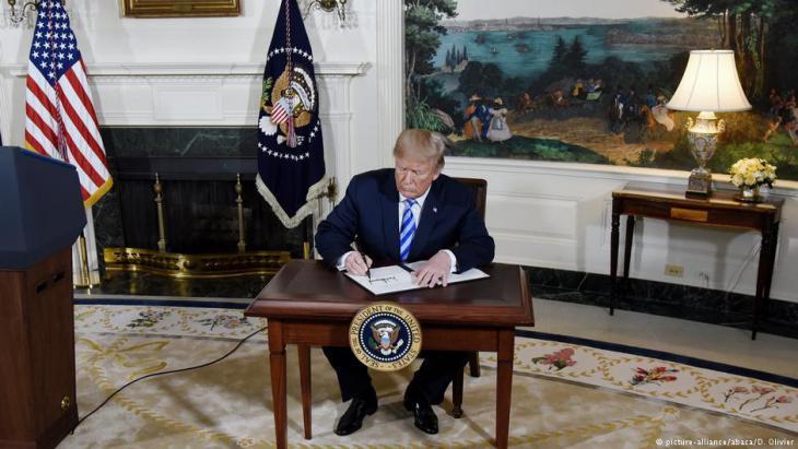 إلغاء الاتفاق النووي استدعى الكثير من المخاوف من نشوب حرب في المنطقة