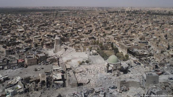 الدمار في الموصل العراقية بسبب الحرب