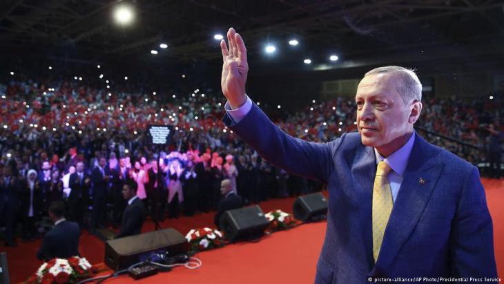 رئيس تركيا رجب طيب إردوغان.
