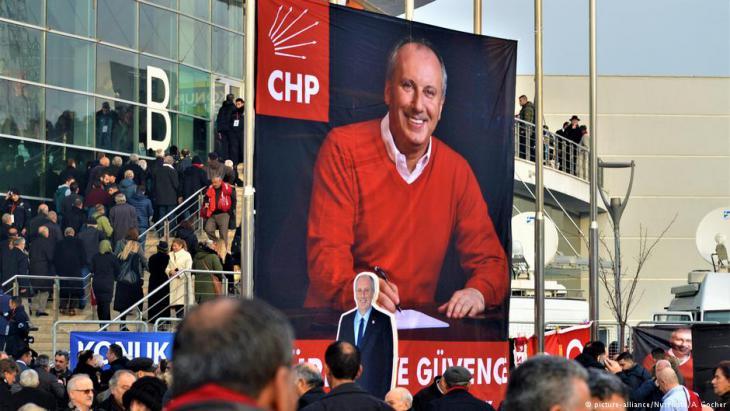 محرم إنجه مرشح حزب الشعب الجمهوري أكبر منافس لإردوغان في الانتخابات - تركيا