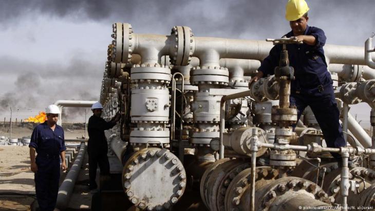 حقل نفطي في العراق. Foto: picture-alliance/AP