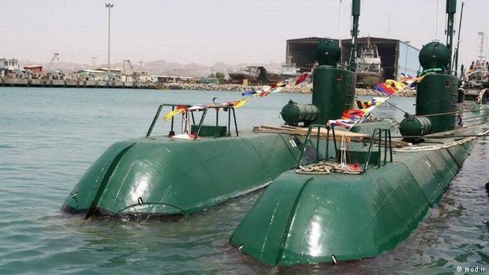 نموذج غواصة إيرانية