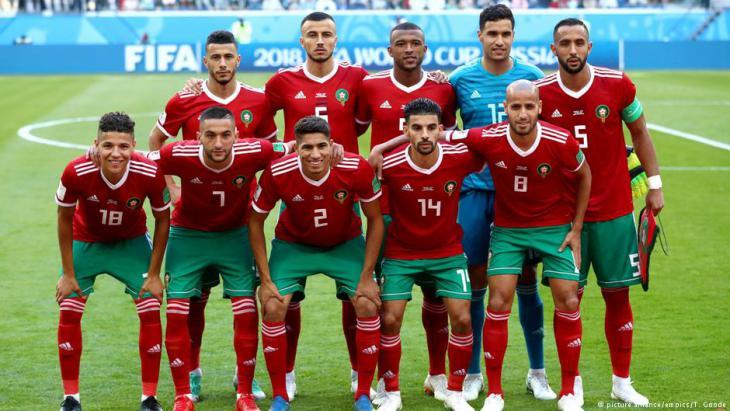 تشكيلة المنتخب المغربي- مونديال روسيا 2018
