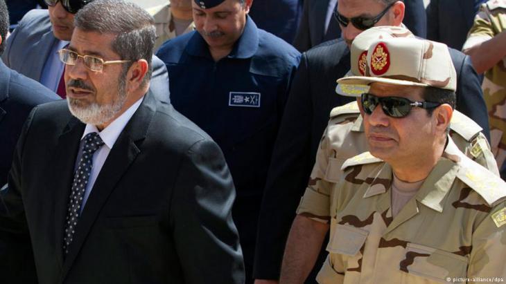 السيسي ومرسي - مصر