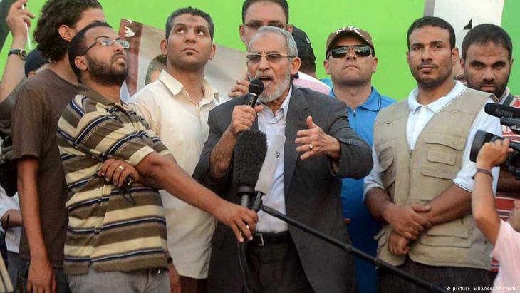 محمد بديع المرشد العام لجماعة الإخوان المسلمين