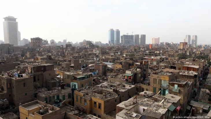 حي رملة بولاق في القاهرة مصر