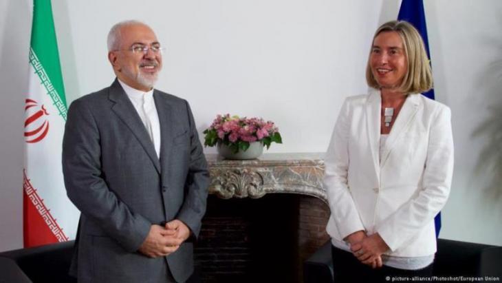 واشنطن رفضت طلب أوروبا إعفاء شركاتها من العقوبات على إيران