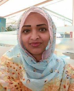 الكاتبة لبنى عصام من السودان